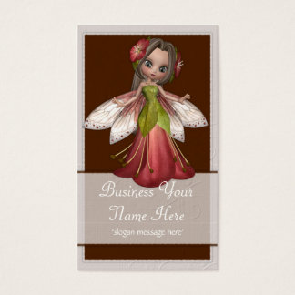 Flower Fairy D2 Fantasy Whimiscal Business Cards