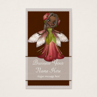 Flower Fairy D4 Fantasy Whimiscal Business Cards