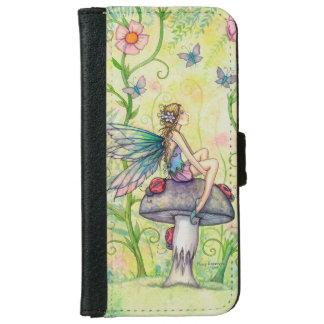 Flower Fairy Fantasy Art Illustration iPhone 6/6s Wallet Case