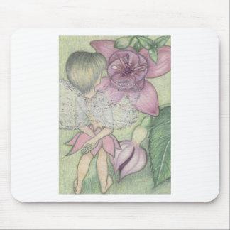 Flower fairy mousepad