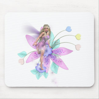 FLOWER FAIRY MOUSE PAD