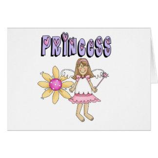 Flower Fairy Princess Greeting Card