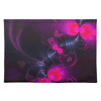 Flower Fairy – Rose and Magenta Pretty Ribbons Cloth Place Mat