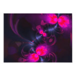 Flower Fairy – Rose and Magenta Ribbons 5x7 Paper Invitation Card