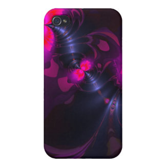 Flower Fairy – Rose and Magenta Ribbons Cover For iPhone 4