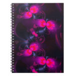 Flower Fairy – Rose and Magenta Ribbons Notebook