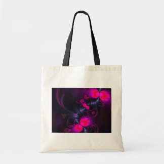Flower Fairy – Rose and Magenta Ribbons Tote Bag