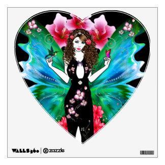 flower Fairy Wall Sticker