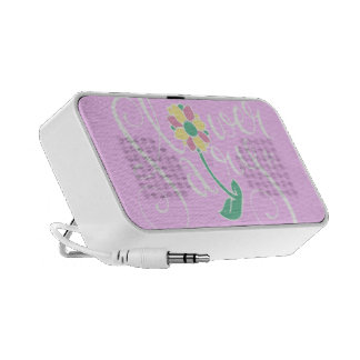 Flower Fairy woofer Notebook Speaker