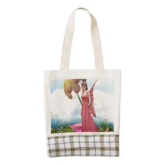 Flower Fairy Zazzle HEART Tote Bag