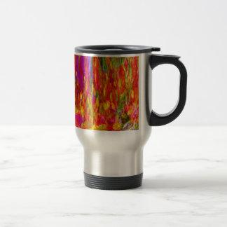 Flower Fal of bright flower coloursl Travel Mug