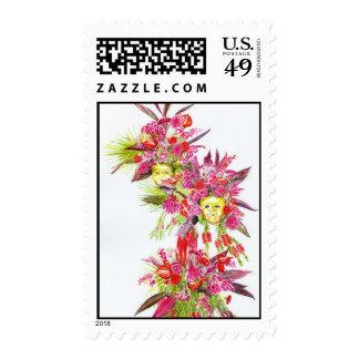 'Flower Festival (John Nettles)' Postage