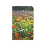 Flower field journals