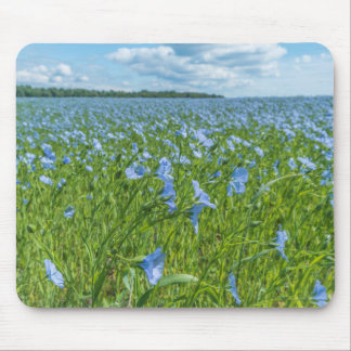 flower field mouse pad
