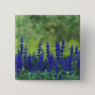 Flower Field of Wildflowers Button