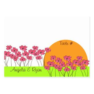 Flower Fields/ Seating Card
