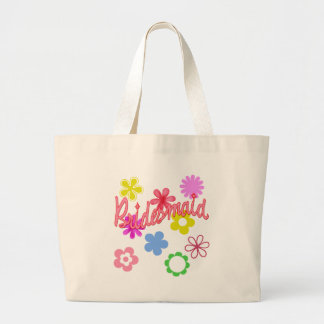 Flower Filled Bridesmaid Products Bags
