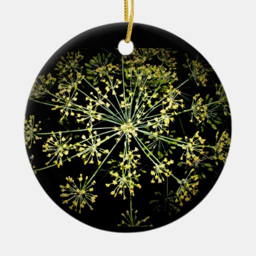 flower fireworks ornament