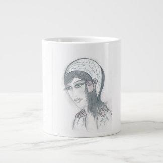 Flower Flapper Large Coffee Mug