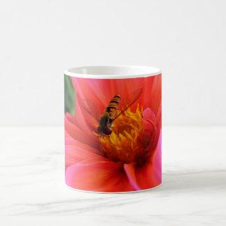 flower flie coffee mugs