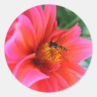 flower flie stickers