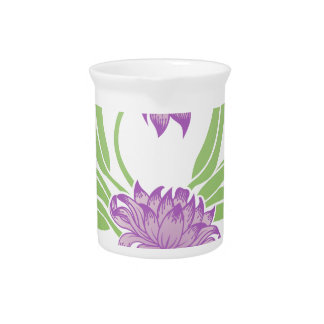 Flower Floral Icon Pitcher
