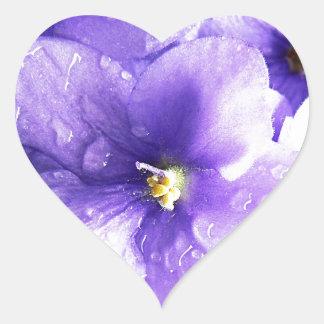 Flower Floral Nursery Peace Cute Superb nice fashi Heart Sticker