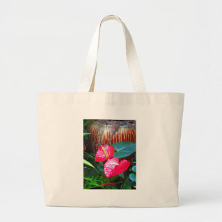 Flower Floral photos from Longwood Gardens Jumbo Tote Bag