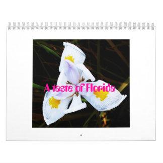 Flower Florida, A taste of Florida Calendar