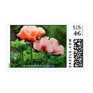 FLOWER FOR PEACE-09 STAMP