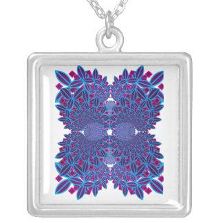 Flower Fractal Necklace