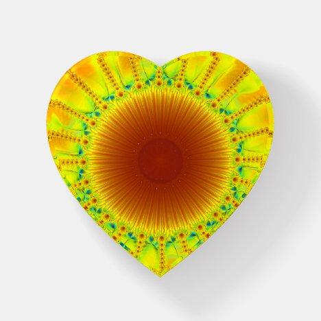 Flower Fractal Paperweight