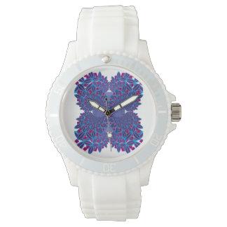 Flower Fractal Wrist Watches