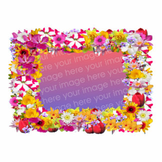 Flower Frame 4X6 Cut Out