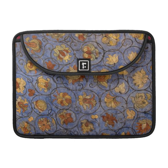 Flower Fresco Sleeve For MacBook Pro