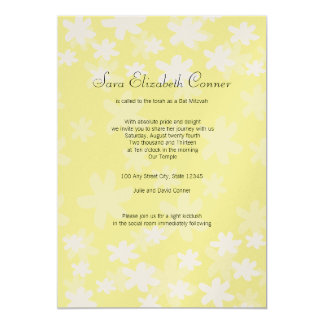 Flower Fresh/ Bat Mitzvah Invite