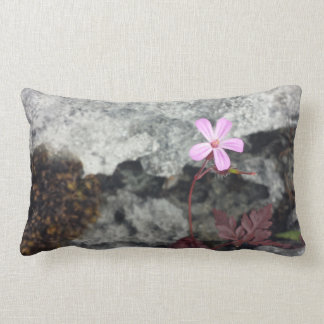 Flower from the Rocks, Burren, Co.Clare Pillow