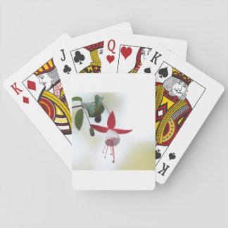 Flower Fuchsia Playing Cards