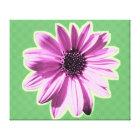flower gallery wrap canvas