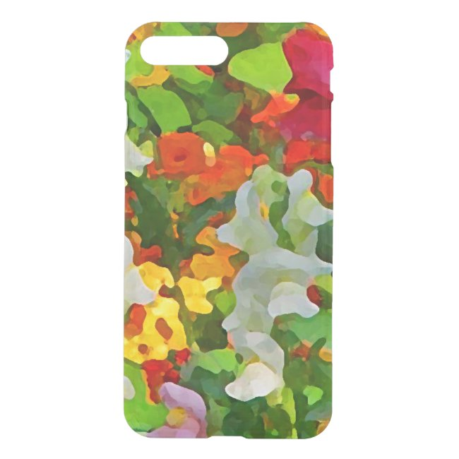 Flower Garden Abstract Floral iPhone 7 Plus Case