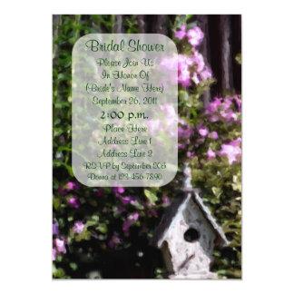 Flower Garden Art Bridal Shower Invite