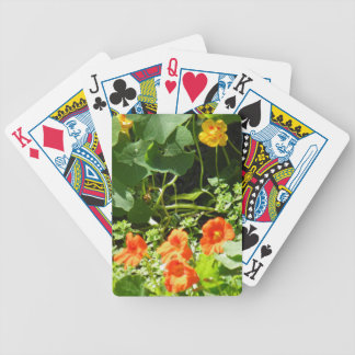 Flower Garden Bicycle Playing Cards
