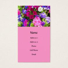 Flower Garden Business Card at Zazzle