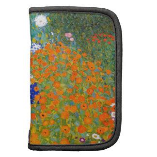 Flower Garden by Gustav Klimt Vintage Floral Organizers