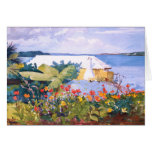 Flower Garden by Winslow Homer Card