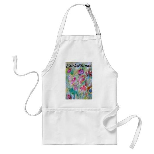 Flower Garden CricketDiane Designer Series Adult Apron