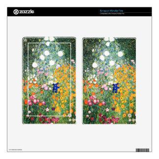 Flower Garden cute Skins For Kindle Fire