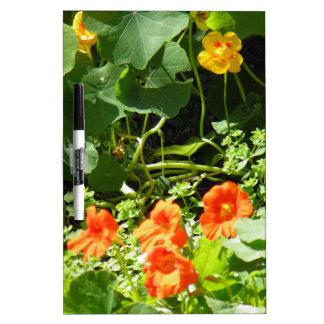 Flower Garden Dry-Erase Board