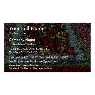 Flower garden, Durham City Business Card
