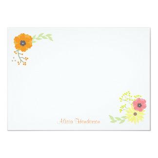 Flower Garden Flat Note Cards